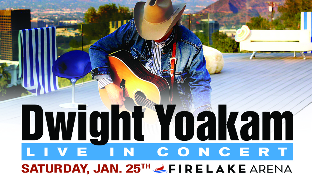 Dwight Yoakam Live in Concert at FireLake Arena